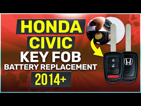 Honda Civic Key Battery Replacement Guide Physical Key