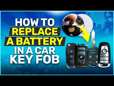How To Replace a Battery in a Car Key Fob