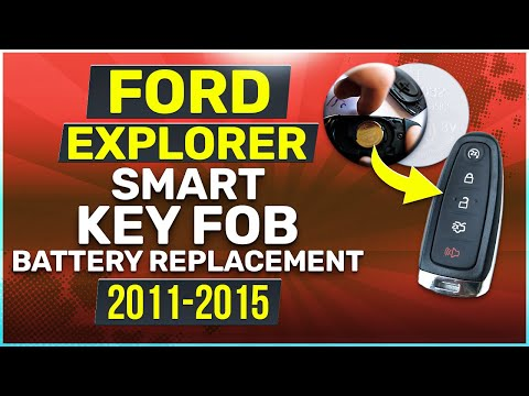 Ford Explorer Smart Key Fob Battery Replacement (2011 - 2015)