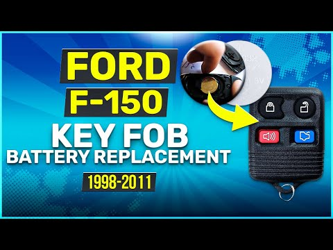 How to Replace Ford F150 F-150 Key Fob Battery 1998-2011