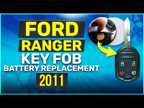 Ford Ranger Remote Key Fob Battery Replacement 2010 2011