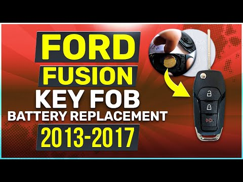 Ford Fusion Remote Key Fob Battery Replacement 2013, 2014, 2015, 2016, 2017