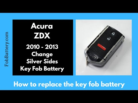 Acura ZDX Key Fob Battery Replacement (2010 - 2013)