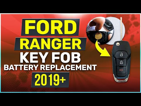 Ford Ranger Remote Key Fob Battery Replacement 2019