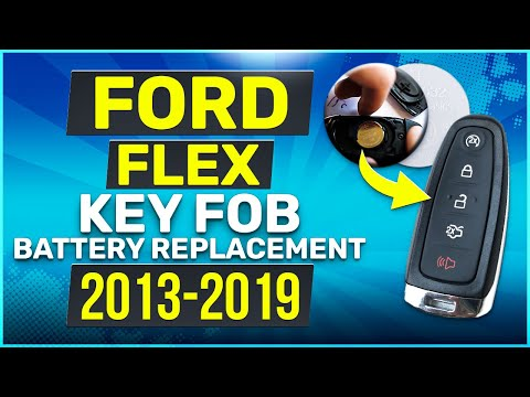 Ford Flex Remote Key Fob Battery Replacement 2013 - 2019