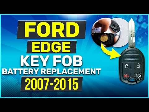 Ford Edge Remote Key Fob Battery Replacement 2007 - 2015