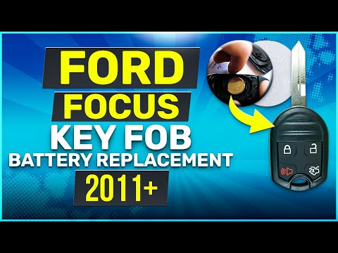 Ford Focus Remote Key Fob Battery Replacement 2011 - 2019