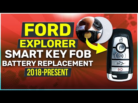 2018 2019 Ford Explorer Key Fob Battery Replacement