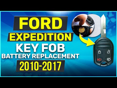 Ford Expedition Remote Key Fob Battery Replacement 2010 - 2017
