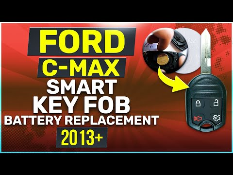 Ford C-Max Smart Key Fob Battery Replacement 2013 2014 2015 2016 2017 2018