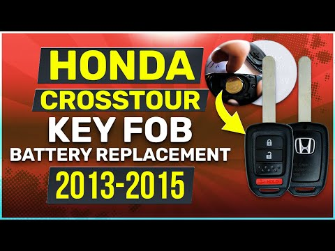Honda Crosstour Key Battery Replacement Guide Physical Key