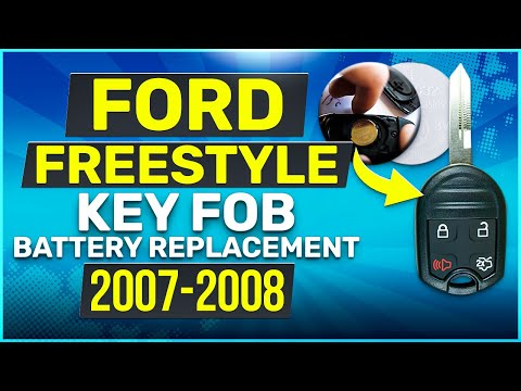 Ford Freestyle Remote Key Fob Battery Replacement 2007 2008