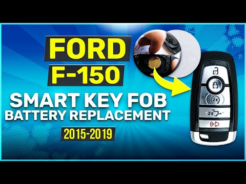 2015 - 2019 Ford F-150 Smart Key Fob Remote Battery Replacement