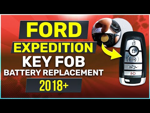 Ford Expedition Remote Key Fob Battery Replacement 2018 2019