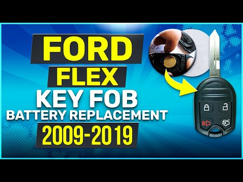 Ford Flex Remote Key Fob Battery Replacement 2009 - 2019