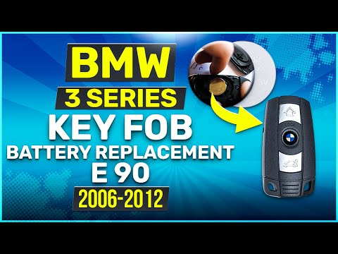2006 - 2012 BMW 3 Series Key Battery Replacement E90 Fob Remote