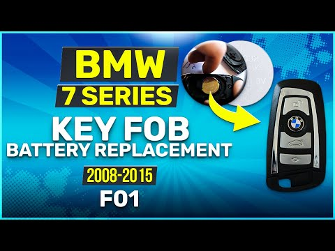 2008 - 2015 BMW 7 Series Key Battery Replacement F01 Fob Remote