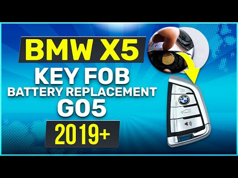 2019 BMW X5 Key Battery Replacement G05 Fob Remote