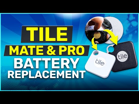 Tile Mate and Pro Battery Replacement Guide