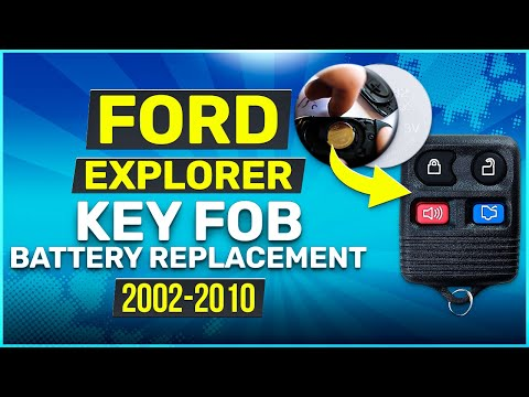 2002 - 2010 Ford Explorer Square Key Fob Battery Replacement