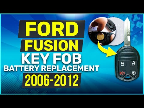 Ford Fusion Remote Key Fob Battery Replacement 2006 - 2012