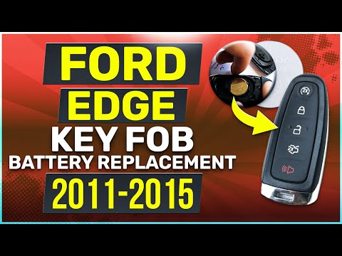 Ford Edge Remote Key Fob Battery Replacement 2011 2012 2013 2014 2015