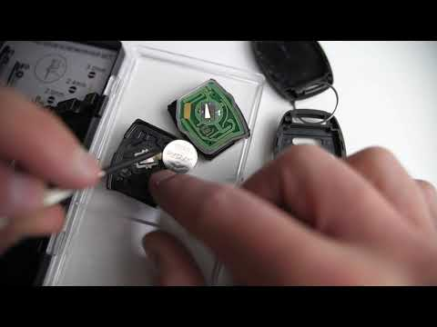 2005 - 2013 Honda CR-V Key Battery Replacement Guide