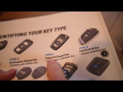 BMW Trapezoid Shape Key Fob Remote Battery Replacement