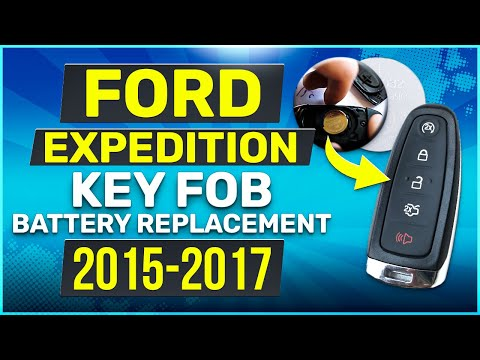 Ford Expedition Remote Key Fob Battery Replacement 2015 2016 2017