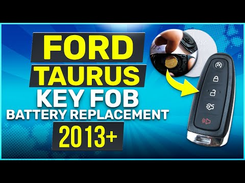 Ford Taurus Remote Key Fob Battery Replacement 2013 2014 2015 2016 2017 2018