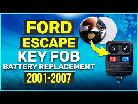 2001 - 2007 Ford Escape Key Fob Battery Replacement