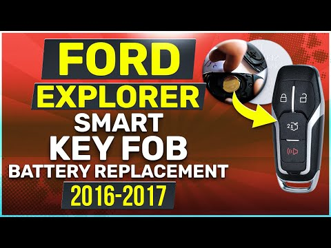 Ford Explorer Smart Key Fob Battery Replacement (2016 - 2017)