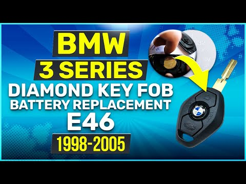 1998 - 2005 BMW E46 3 Series Key Fob Battery Replacement DIY
