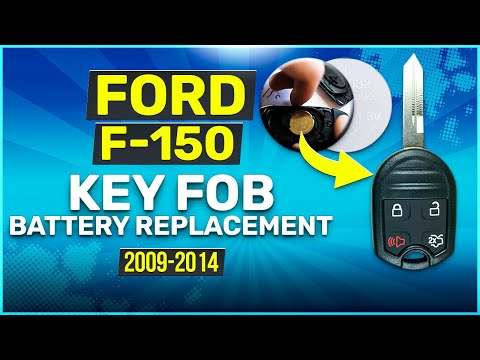 2009 - 2014 Ford F-150 Key Fob Battery Replacement
