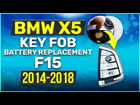 2014 - 2018 BMW X5 Key Battery Replacement F15 Fob Remote