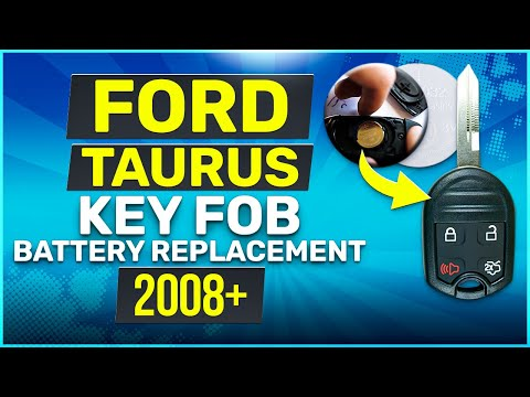 Ford Taurus Remote Key Fob Battery Replacement 2008 - 2019