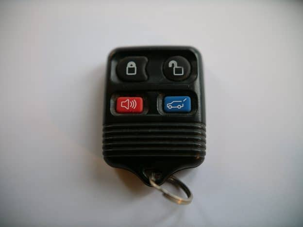 Ford Square Fob (no key, 4-button) Battery