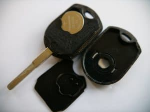 Ford Escape Rounded Key Fob