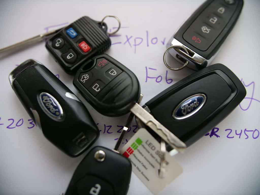 Change Every Ford Explorer Key Fob Battery