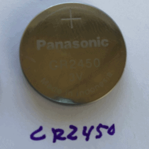 CR 2450 Key Battery