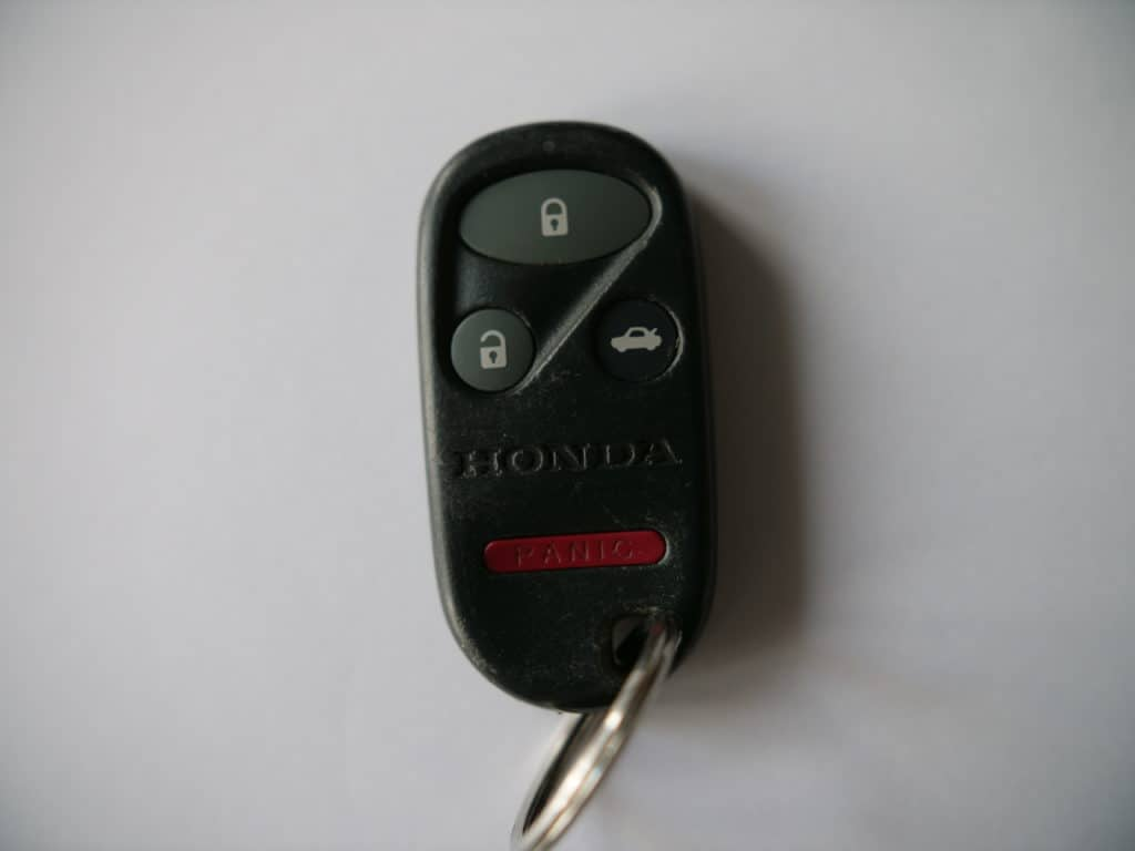 The oldest Honda smart key fob.