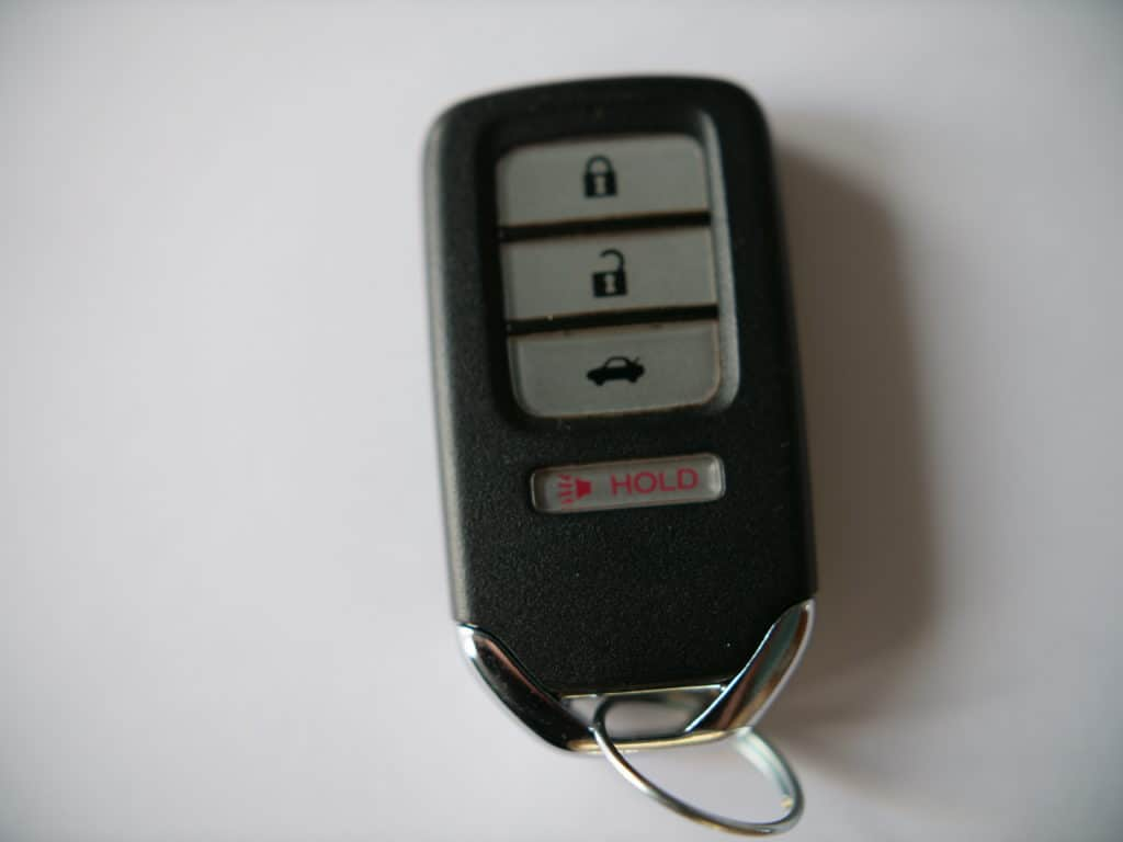 honda fit smart key battery